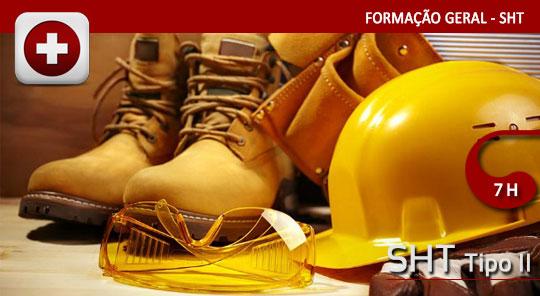 Segurança e Higiene no Trabalho – Tipo II