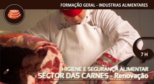 Higiene e Segurança Alimentar Sector das Carnes – Renovação