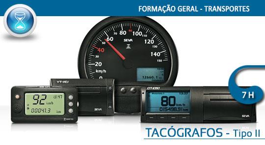 Regulamentação Social: Tempos de Condução e Repouso / Tacógrafos – Tipo II