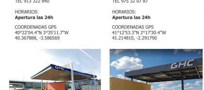 Novos postos de combustível disponíveis na nossa rede !